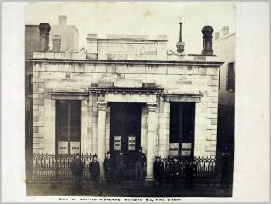 Bank of British N. America Victoria, B.C. and staff