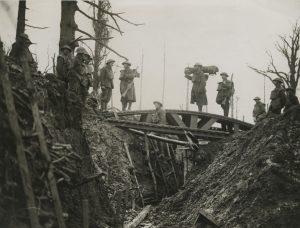 A trench bridge (World War I 1914-1918 British Press photograph collection, BC_1763_0955)