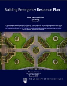Building Emergency Reponse Plan Download