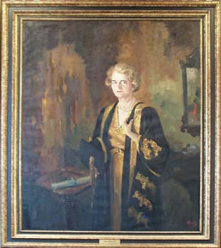 Phyllis Gregory Ross Portrait
